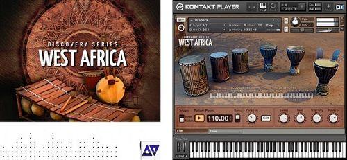 NI West Africa Instrumentos de Percusión Africanos VST