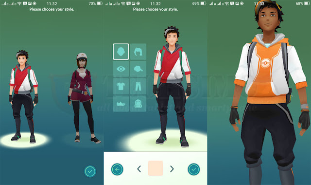profile avatar pokemon go