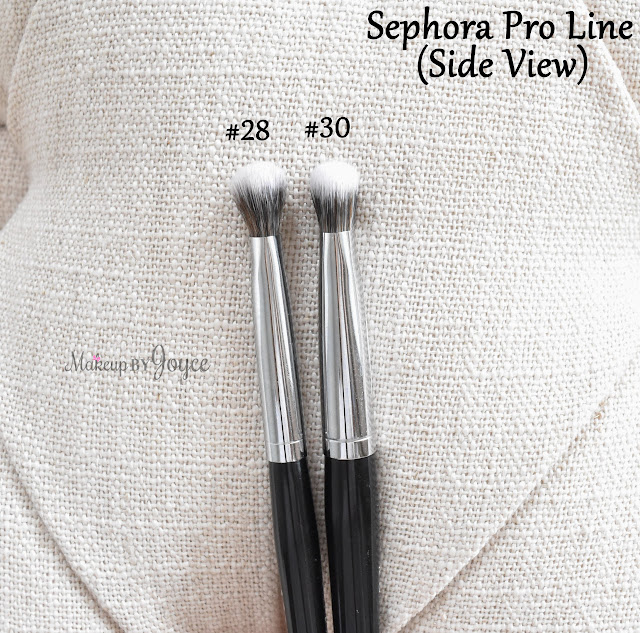 Sephora Collection Pro Airbrush Shadow #30 Brush Review Smokey #28