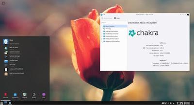 KDE Plasma 5.10.4 Desktop Environment
