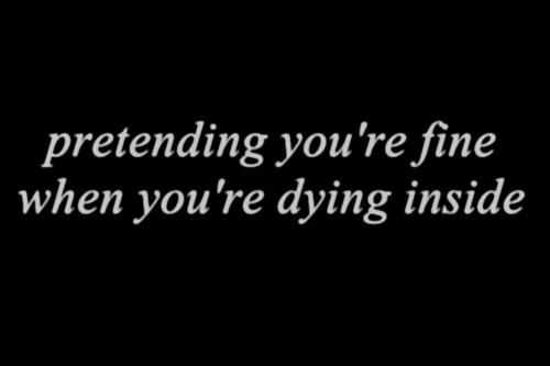 Quotes About Dying Inside Tumblr