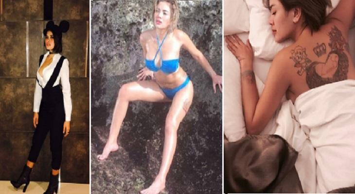 10 Foto Paling Hot Nikita Mirzani Dari Bikini Sampai Buka Baju Pamerkan Bra