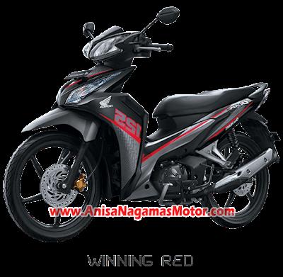 Blade R - Winning Red  2018 Anisa Naga Mas Motor Klaten Dealer Asli Resmi Astra Honda Motor Klaten Boyolali Solo Jogja Wonogiri Sragen Karanganyar Magelang Jawa Tengah.