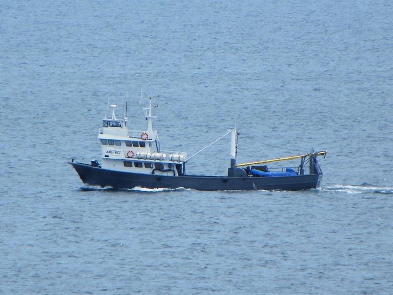 фото корабля морської охорони спецпризначення «Аметист» проекту «Трофейний»
