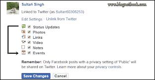 Facebook Page Profile Twitter Se Kaise  Link Kare - Puri Jankari.