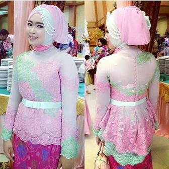 Baju Kebaya Muslim Berjilbab Terbaru
