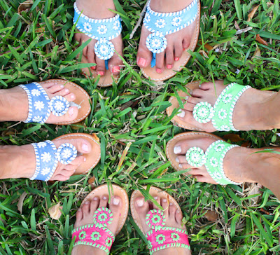 8622fe5b60a54d I am so excited to introduce Summer Wind readers to Palm Beach Sandals!  You ll notice that Palm Beach Sandals are very similar to the look of Jack  Rogers
