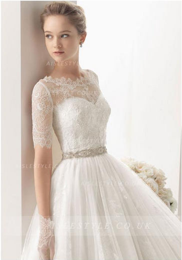 http://www.aislestyle.co.uk/off-the-shoulder-lace-overlay-tulle-detachable-cloak-simple-weddin-dress-with-crystal-belt-p-6996.html