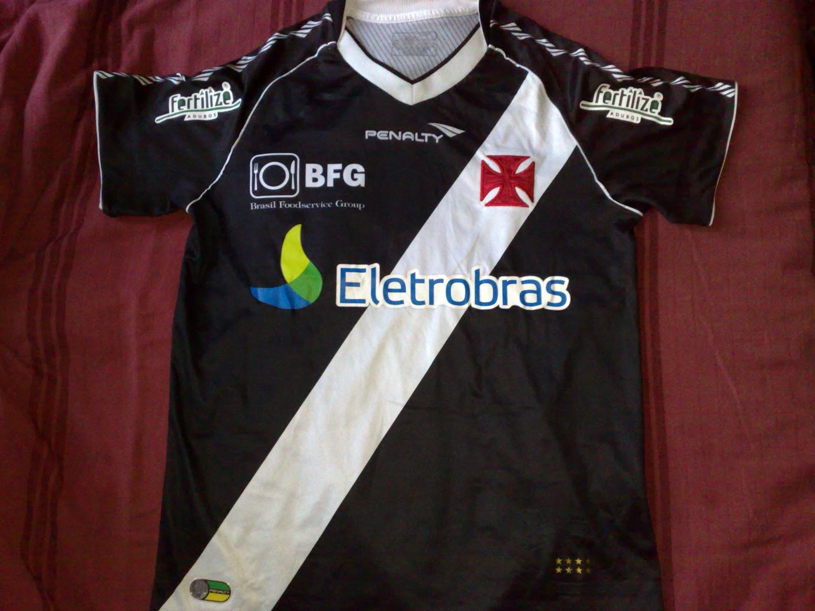 Camisas do Vasco da Gama  2012- Penalty (Fertilize) e776d420a7c70