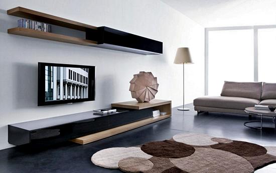 Kumpulan Desain Meja dan Rak TV Minimalis Terbaru Yang Elegan 003