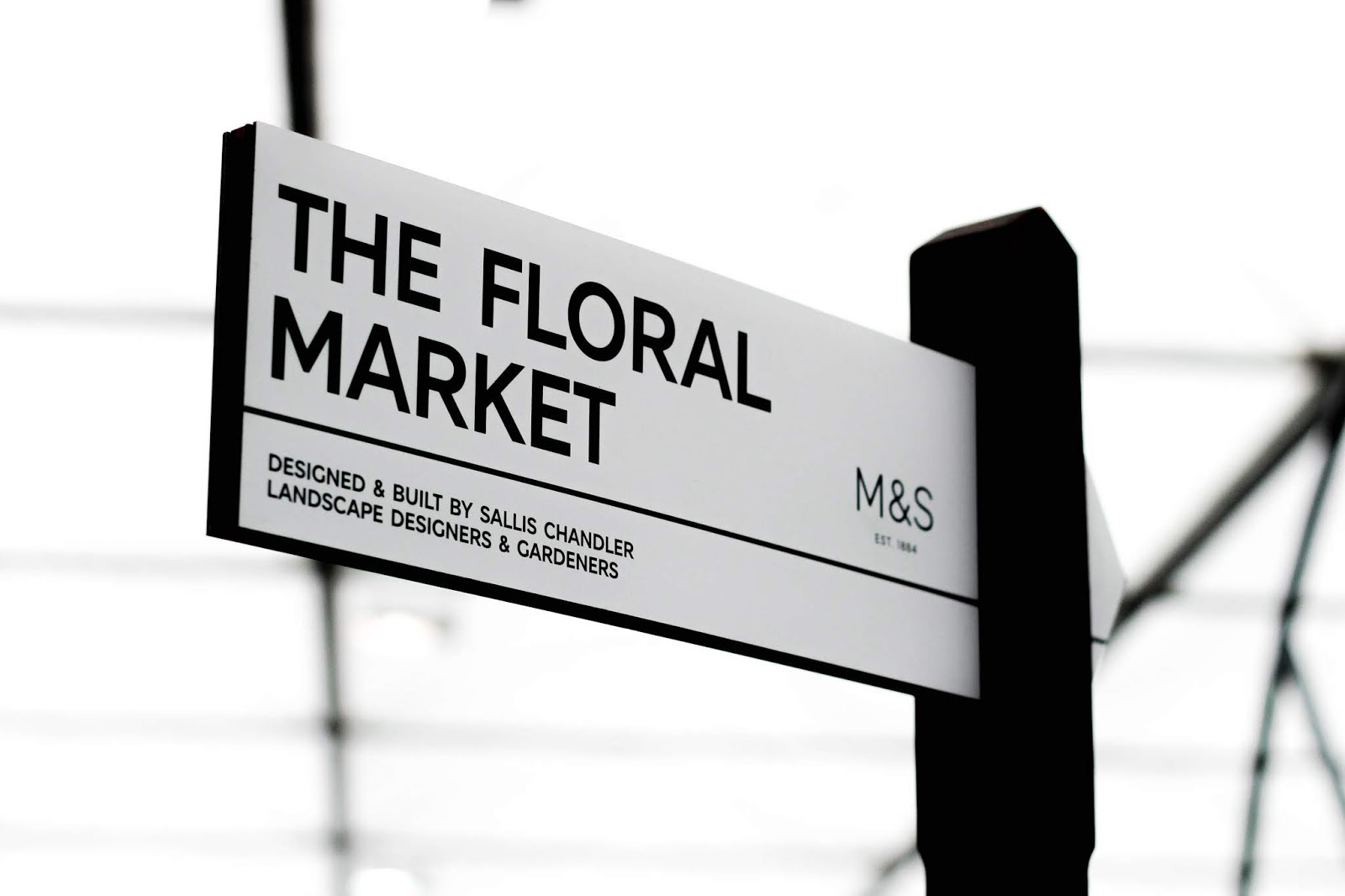 M&S The Floral Market Chelsea Flower Show 2018