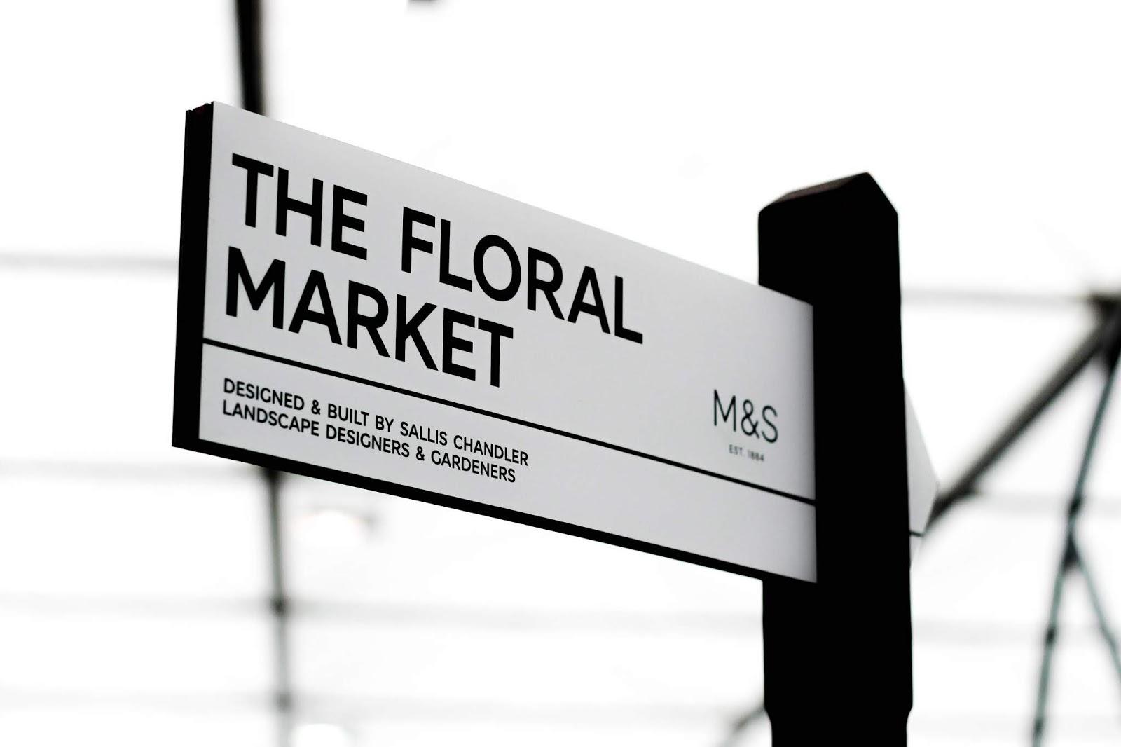 M&S The Floral Market Chelsea Flower Show 2018