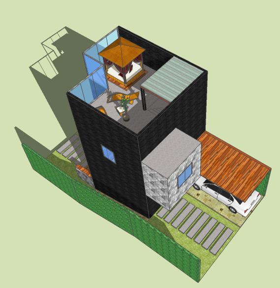 Desain Unit Villa Jepara Type B