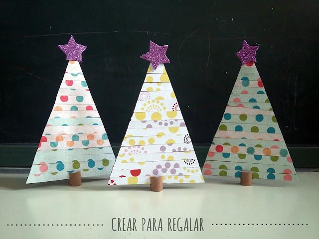 manualidades para niños arbol de navidad