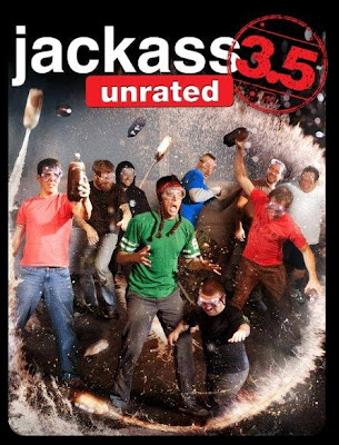 Poster Of Hollywood Film Jackass 3.5 (2011) In 300MB Compressed Size PC Movie Free Download At worldfree4u.com