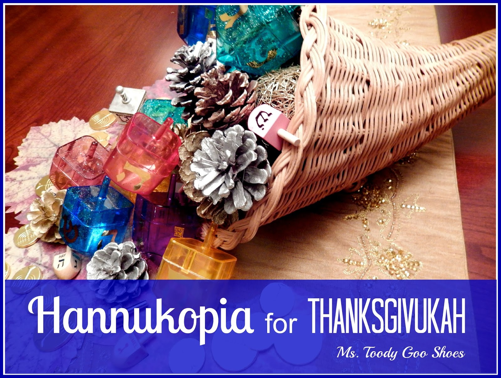 The Hannukopia - A Thanksgivukah Centerpiece  by Ms. Toody Goo Shoes