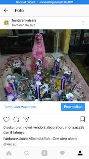 hantaran kaisara -  April 2018