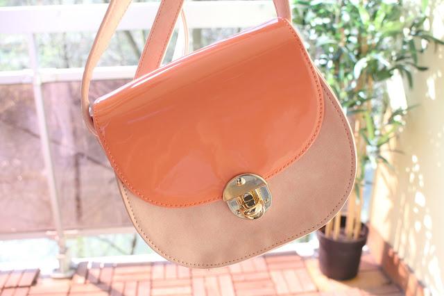 sac à main rose corail, la redoute
