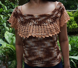 free crochet top pattern, free crochet off the shoulders top pattern