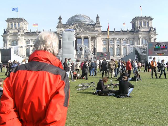 Boomstadt Berlin Bundestag