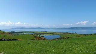 A skót táj az Isle of Cumbrae-n