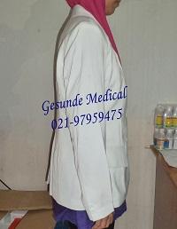 Baju Jas Dokter Perempuan Lengan Panjang