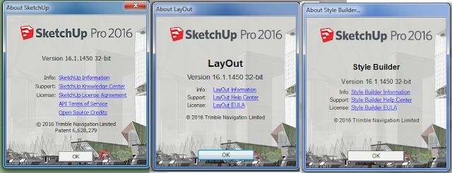 SketchUp Pro 2016 16.1.1450 + crack (WIN-MAC) + vray