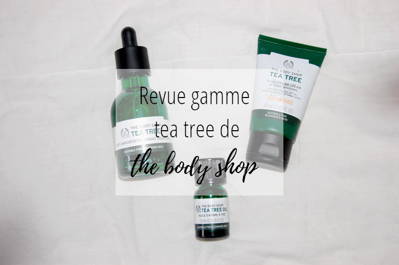 Revue tea tree the body shop