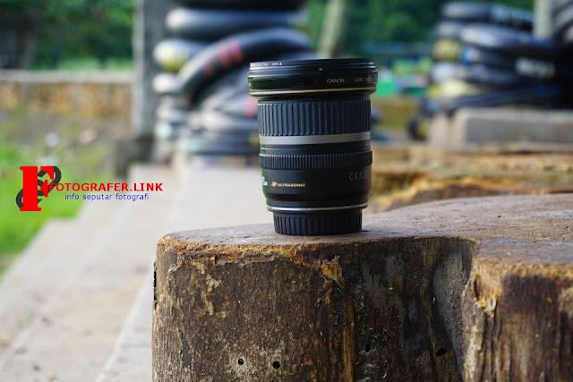Membuat foto dengan background blur menggunakan lensa kit