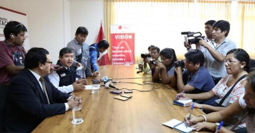 Fiscalía y Contraloría intervienen Gobierno Regional de Tacna por presuntos actos de corrupción