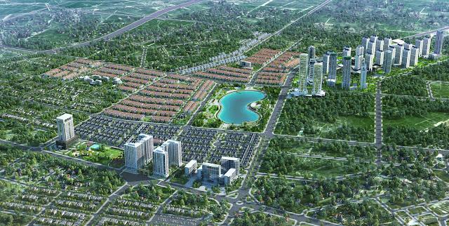 khu đô thị mới tại Hà Nội