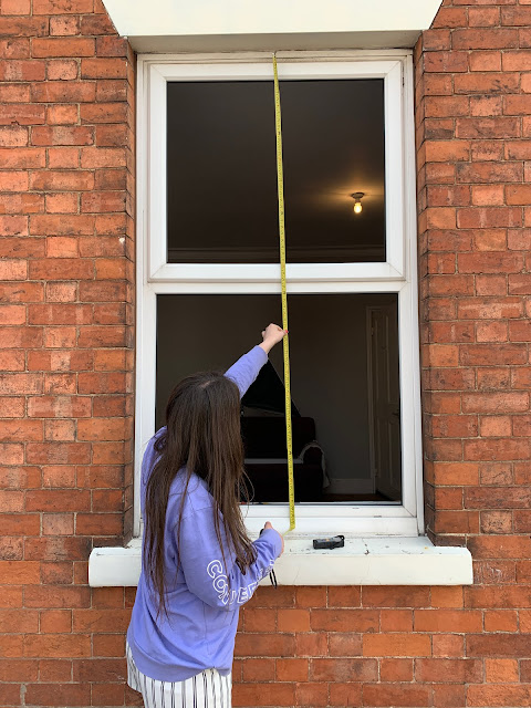 measuring a new window