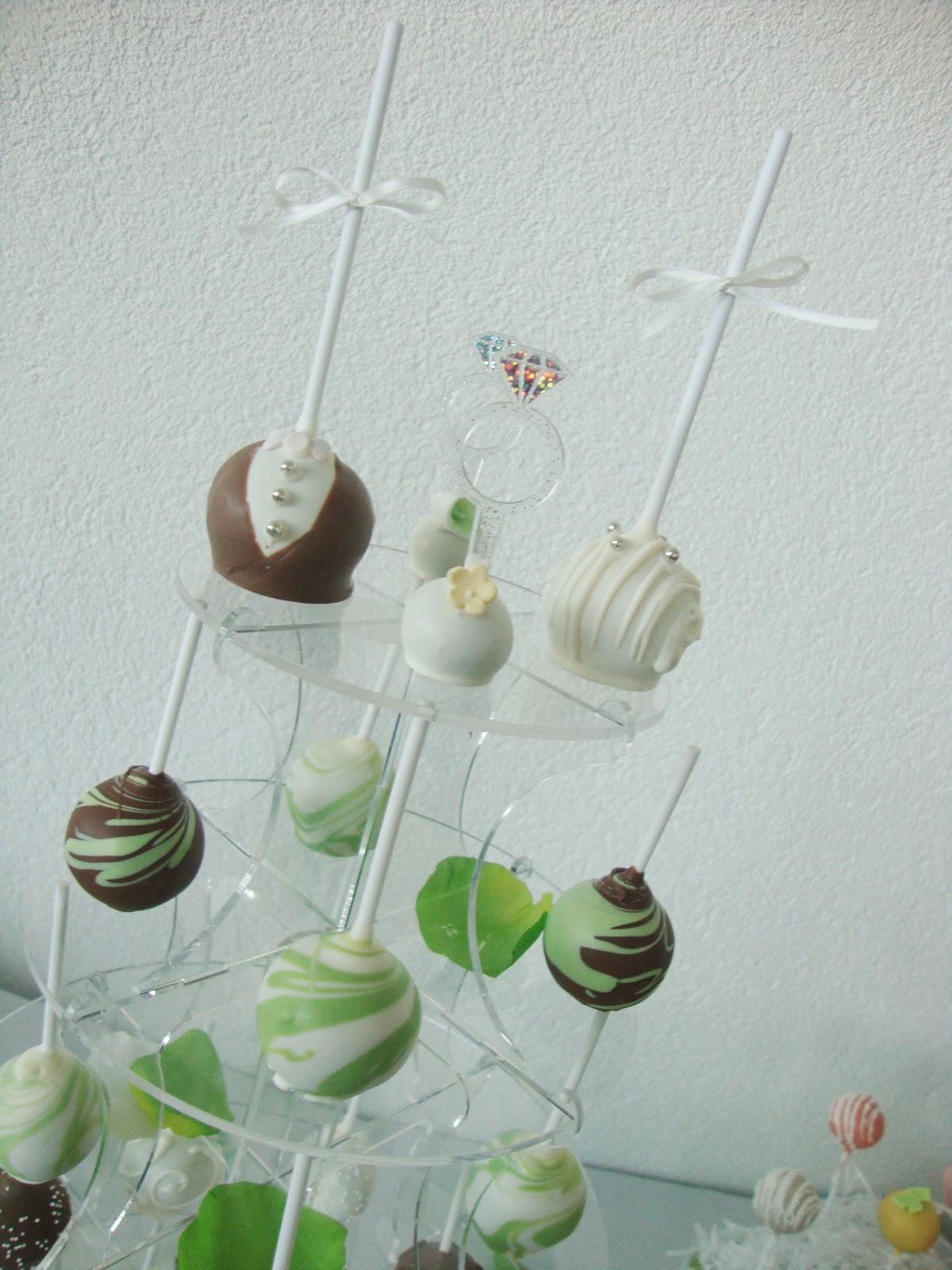 Popits Cake Pops Wedding Display And Canape Cake Pops
