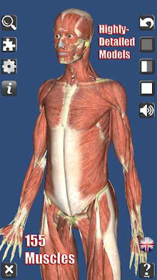 Visual Anatomy 3D | Human for Android