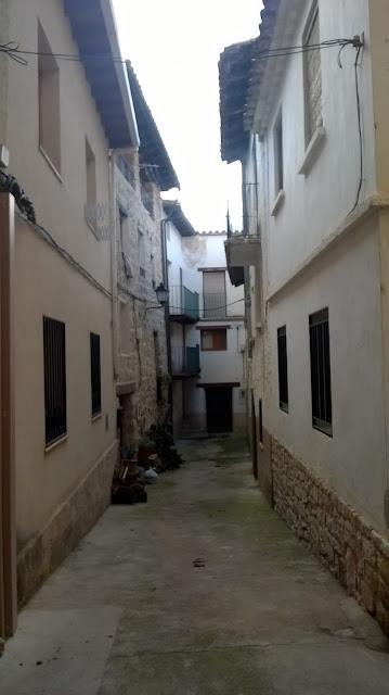 Calle sin salida en Villanueva