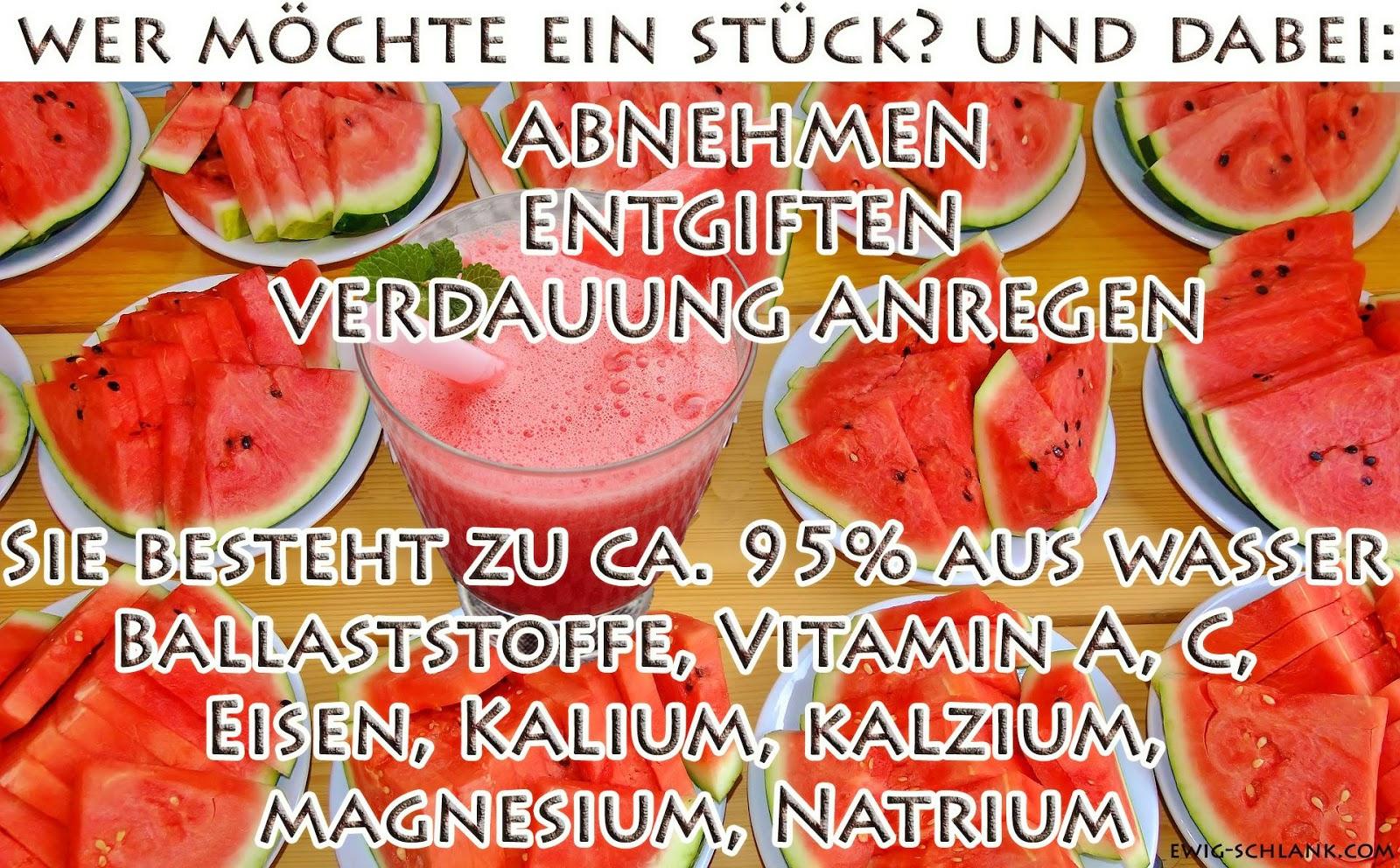 wassermelone fettkiller