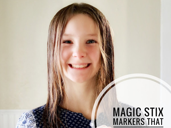 Magic Stix — Washable markers that won't dry out!