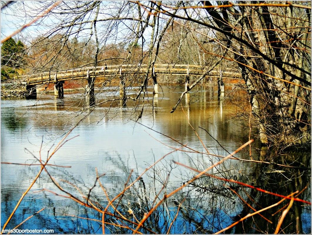 Patriots´ Day en Concord: North Bridge