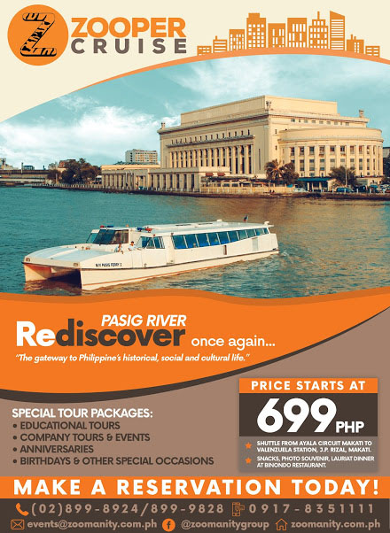 Zooper Cruise A Magical Ride At Pasig River Life In Technicolor