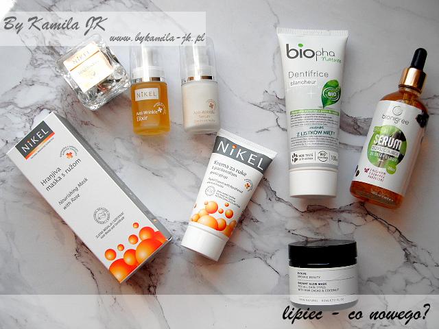 Kosmetyczne podsumowanie co nowego nowości Nikel Bipha Bionigree chorwackie kosmetyki naturalne pasta do zębów serum do skóry głowy