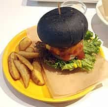 burger karbon aktif