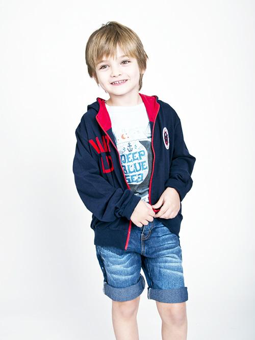 Ropa para niños primavera verano 2018 remeras y shorts para nenes.
