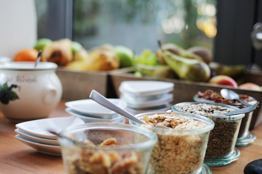 aspria frühstück haferflocken hotel