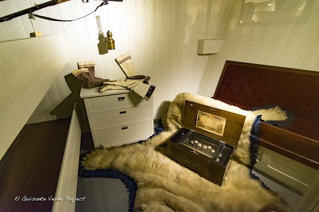 Camarote del Fram - Museo Fram, Oslo por El Guisante Verde Project