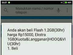 Cara Daftar Paket Internet Telkomsel Flash 1.2GB Hanya 15 Ribu