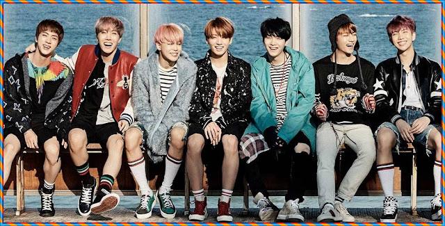BTS-Spring day