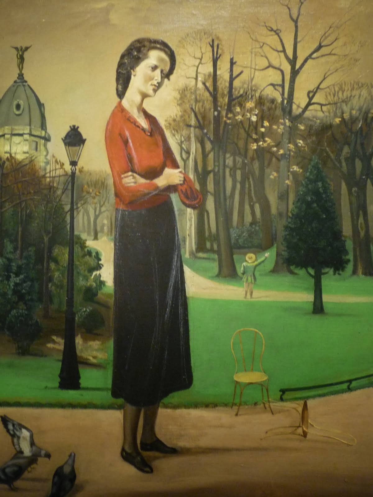 Lelia+Caetani%252C+1935+Balthus - O Jardim de Ninfa