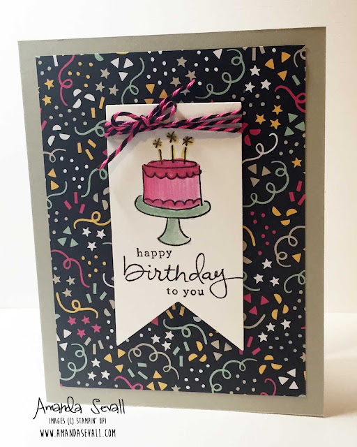 Amanda Sevall Designs Card Happy Birthday To You