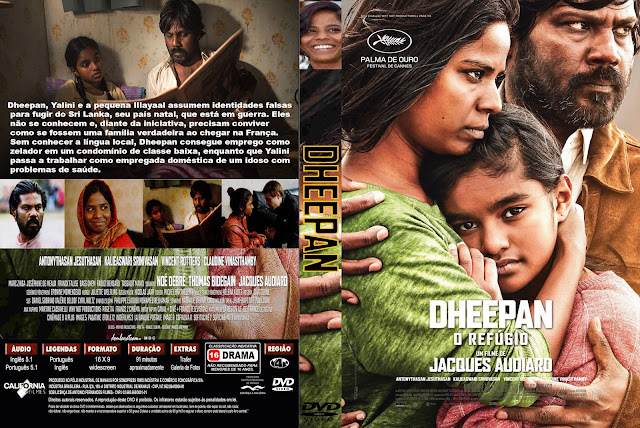 Capa DVD Dheepan O Refúgio
