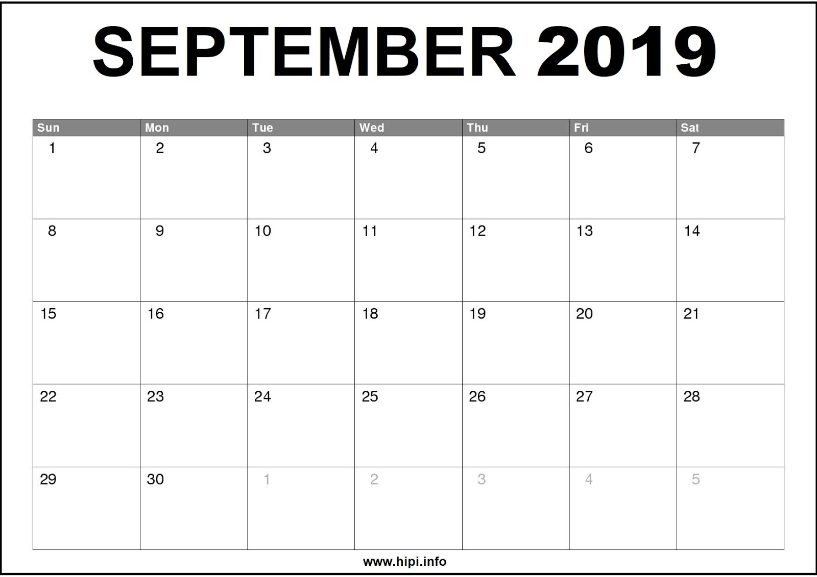 graphic relating to Printable Monthly Calendar September called Twitter Headers / Fb Handles / Wallpapers / Calendars